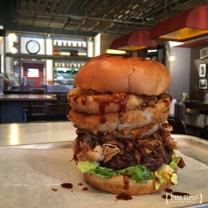 Pitt Bros Bbbq Burger