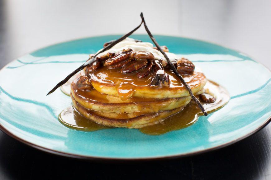 Vanilla Buttermilk Pancakes 1
