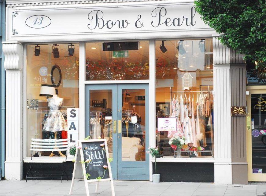 Bow Pearl Ranelagh Wedding Shopping Dress