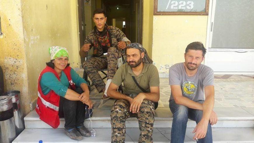 Calvin James Scoop Foundation Syria