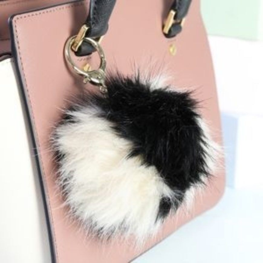 Preview Fluffy Bag Charm Or Keyring