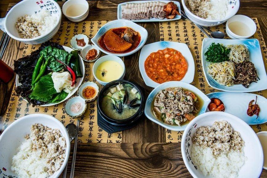 2 Korean Food 1