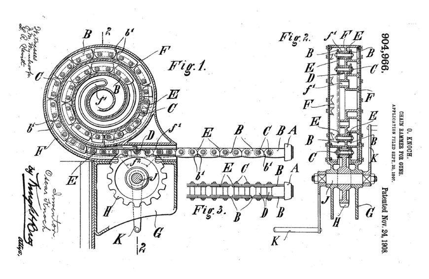 Chain Rammer Patent
