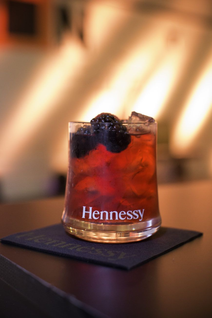 Hennessy Winter Berry Cocktail