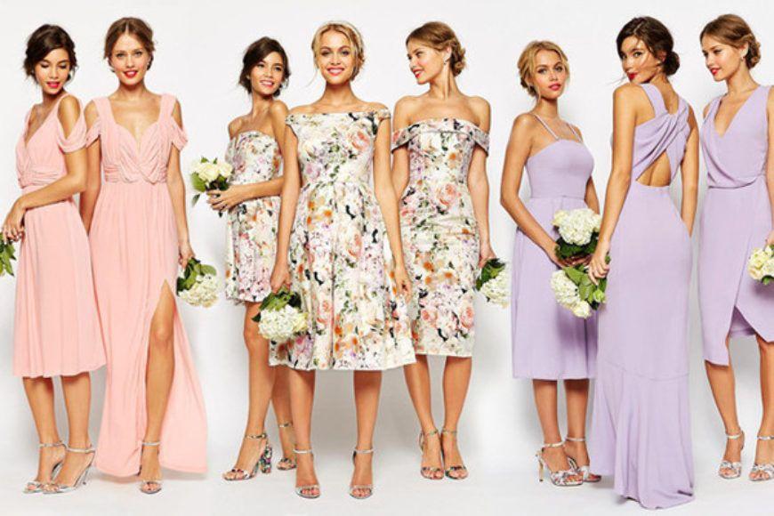 Bridal Party Asos Wedding Range