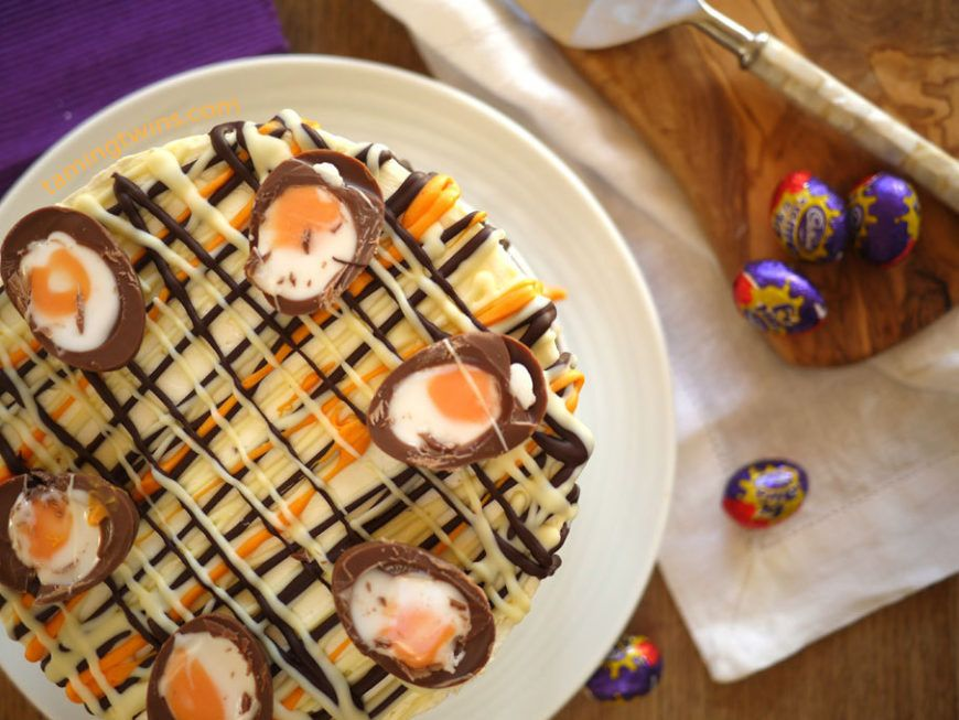 Cheesecase Creme Eggs