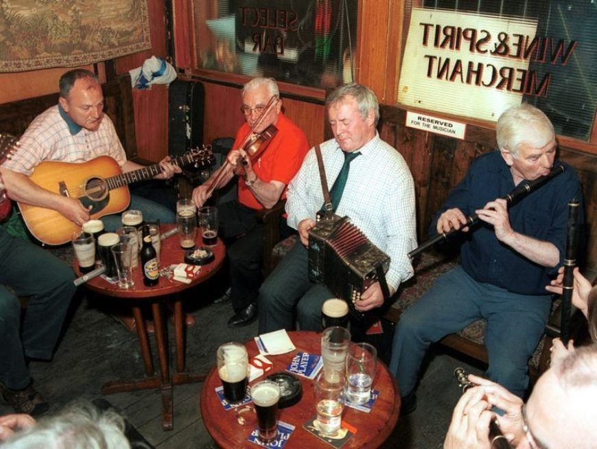 A trad session at The Cobblestone is one of the most entertaining things to do in Dublin