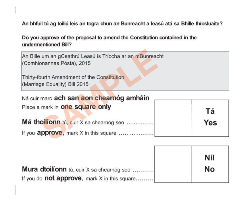 ballot marriage