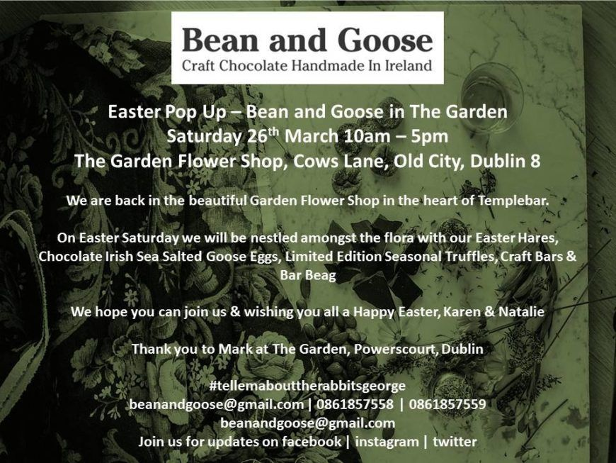 Bean And Goose Easter Pop Up Event 2016