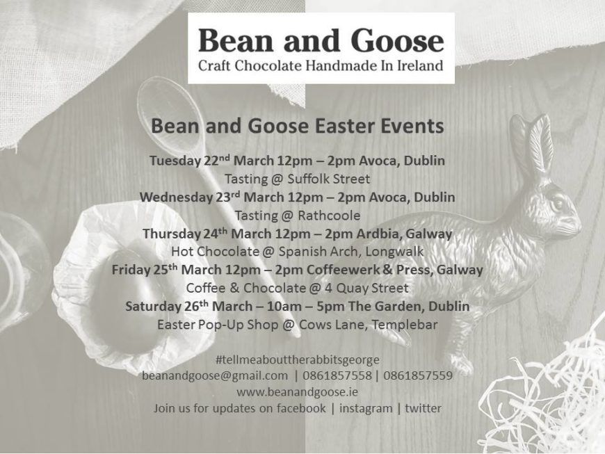 Bean And Goose Easter Week 2016
