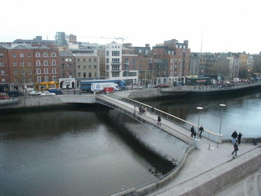 Millennium Bridge Dublin  Geograph Ie  446300 Cf8Ffad2