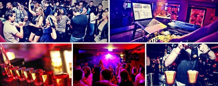 Nightclub Ellar Collage Website