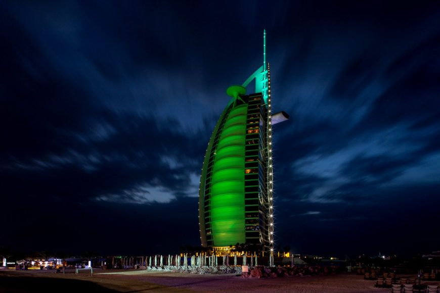 Pic 1 Burj Al Arab Dubai Joins Tourism Irelands Global Greening