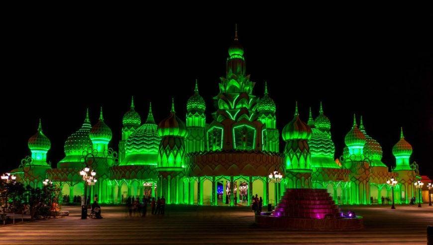 Pic 1 Global Village Gate Dubai Joins Tourism Irelands Global Greening