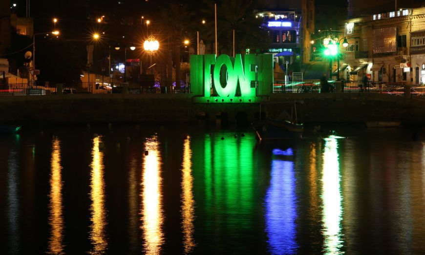 Pic 1 Love Monument In St Julians Malta Joins Tourism Irelands Global Greening
