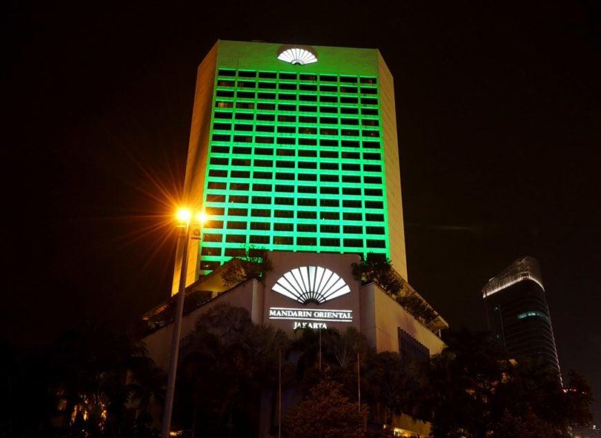 Pic 1 Mandarin Oriental Hotel Jakarta Joins Tourism Irelands Global Greening