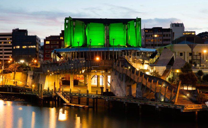 Pic 1 Michael Fowler Centre Wellington Joins Tourism Irelands Global Greening