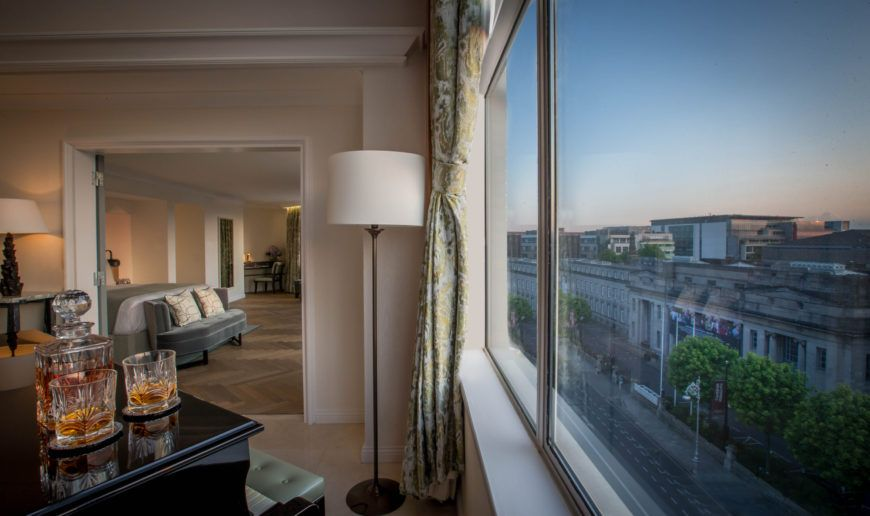 Presidential Suite View And Piano