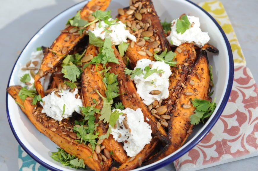 Beet Sweetpotato Salad