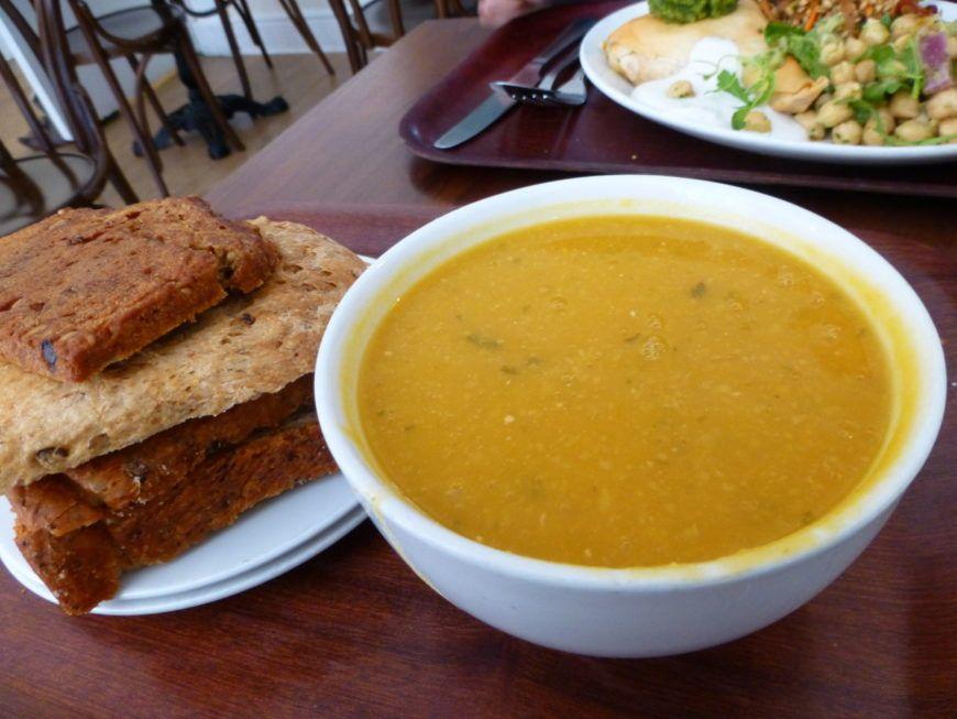 Cornucopia Soup And Bread