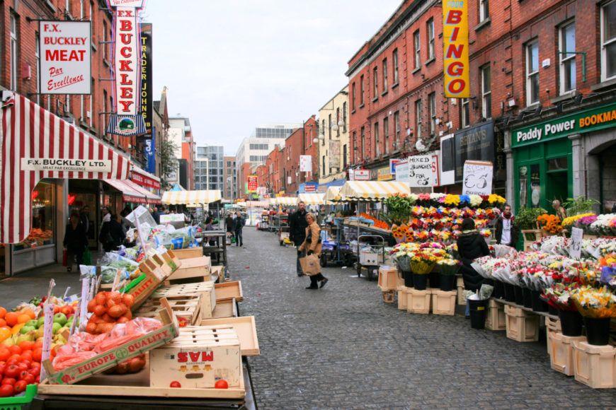Moore Street Market Dublin
