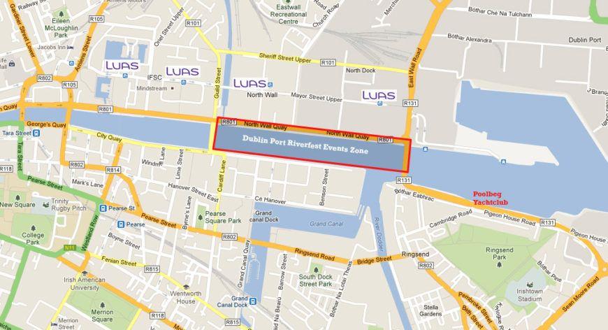 Riverfest Map