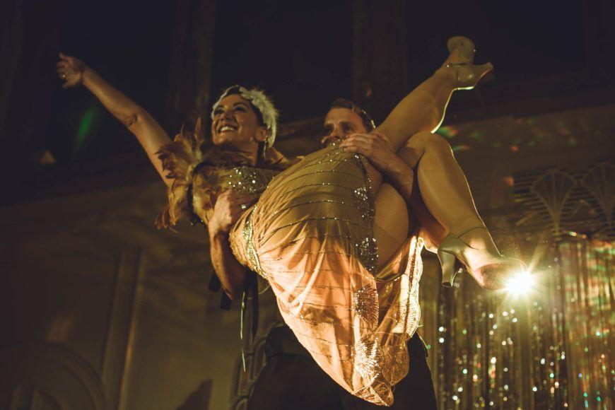 Film Fatale Prohibition Gatsbys Mansion  Karen Tynan And Thomas Spratt