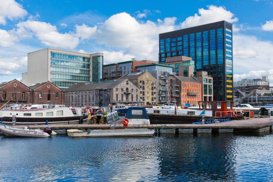 15 The Dock Mill Apartments Overlooking The Inner Basin At Grand Canal Dock
