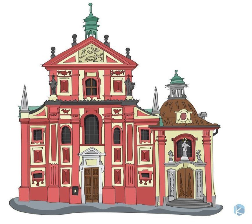 Saint Georges Basilica Prague Czech Republic