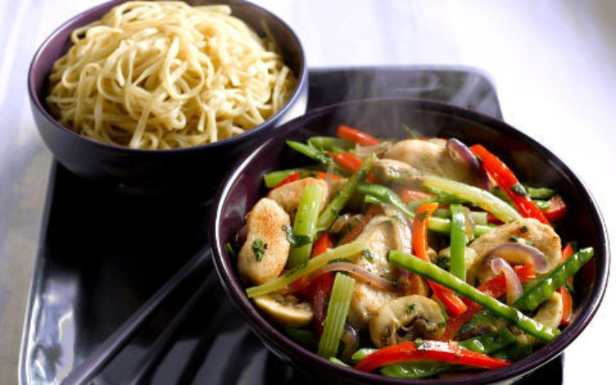 Stirfry Chicken With Ginger
