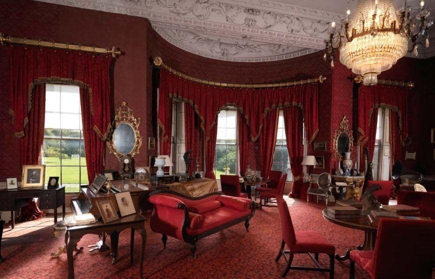 Cozy Newbridge Red Room