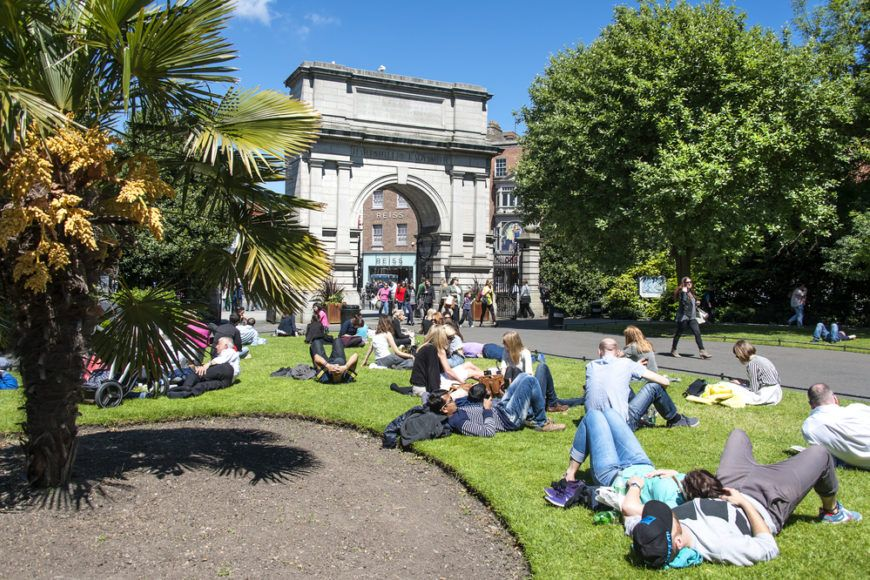 Stephens Green Sunny