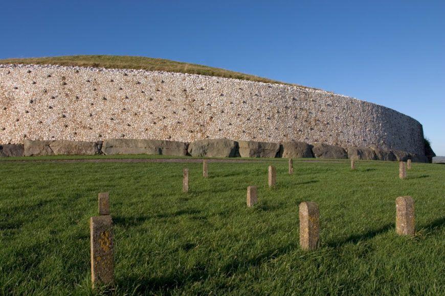 Newgrange burial chamber