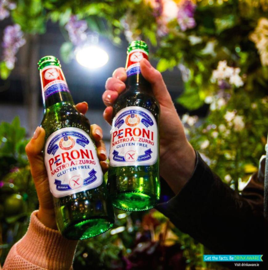 Peroni Cheers