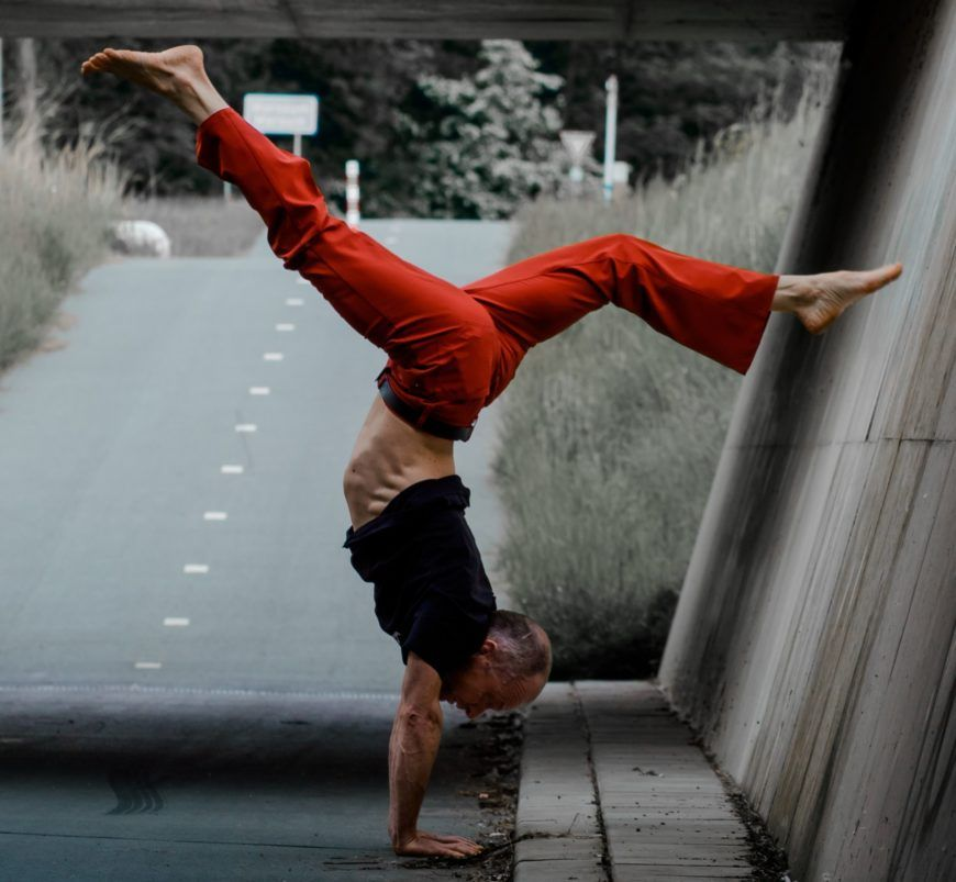Yoga Handstand Israel Gil 596312 Unsplash