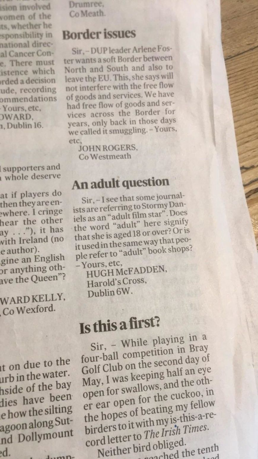 An Adult Question 2
