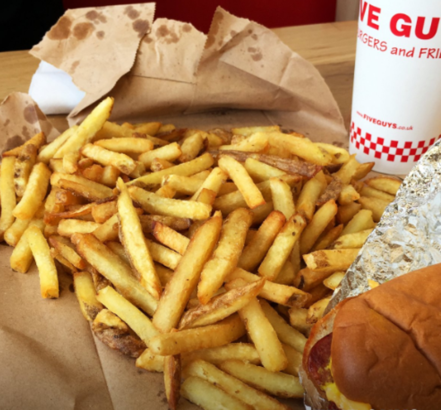 Five Guys Chips 2