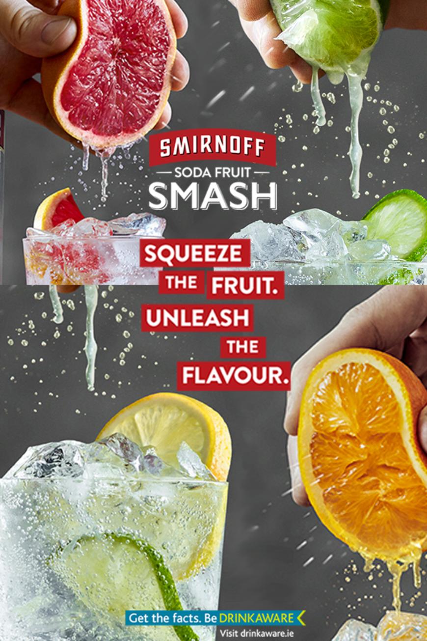 Pin Smirnoff Multi Flavour Ireland 230418
