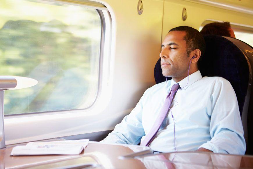 Commuter Relaxing