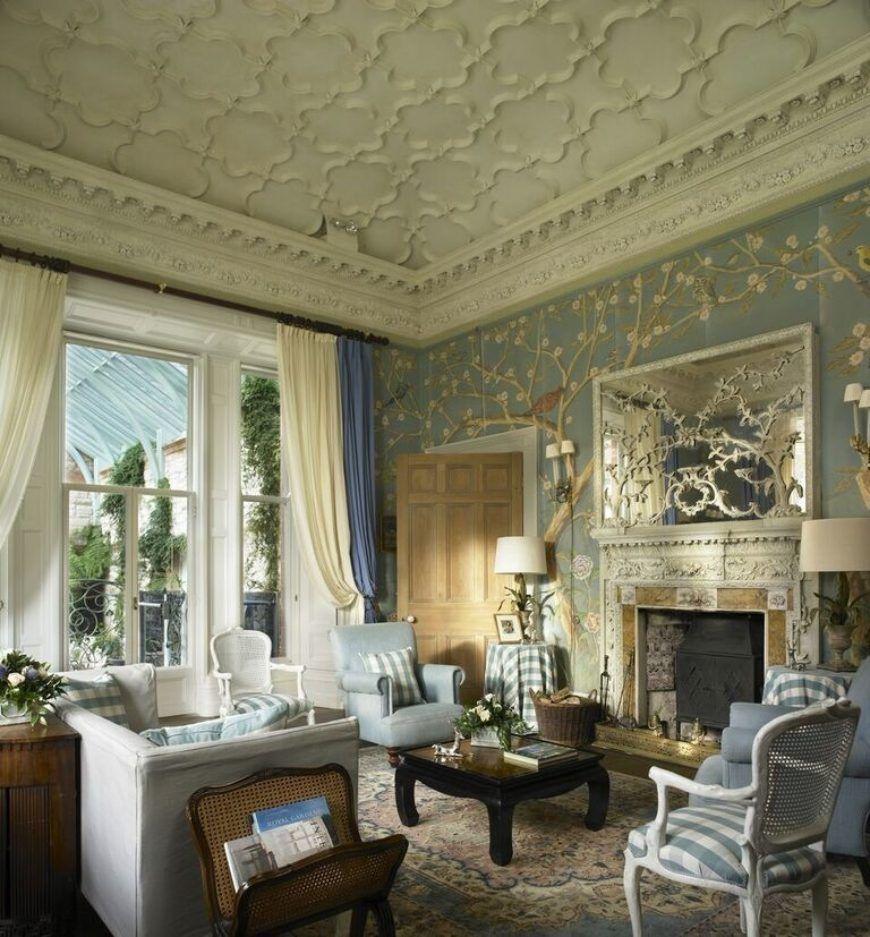 Leslie Castle Blue Room Preview