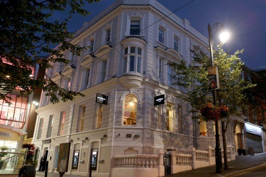 Shipquay Hotel By Night