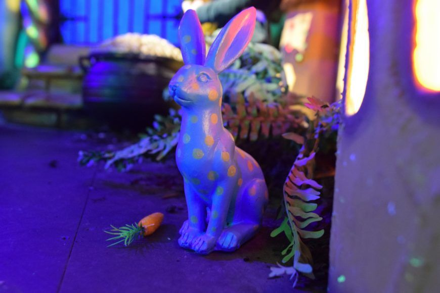 Bunny Enchanted Forest Wax Museum 1