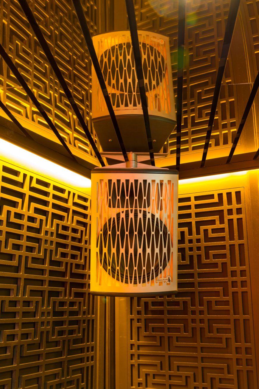 Hang Dai Gold Bar Speakers