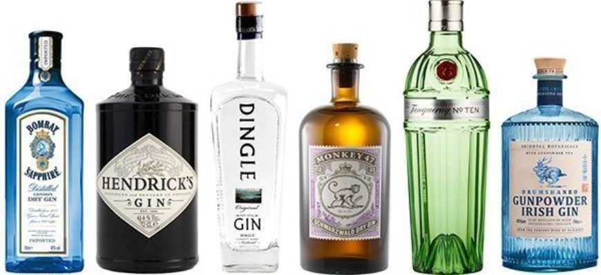 Obriens Gin Selection Lovin Dublin