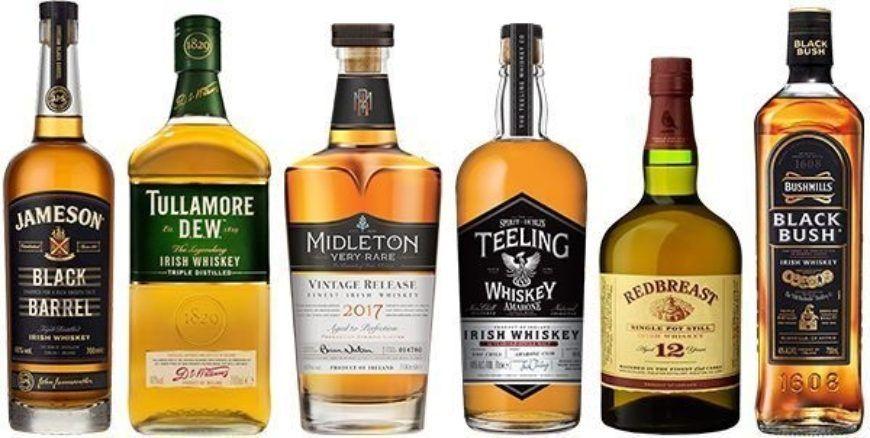 Obriens Irish Whiskey Selection Lovin Dublin