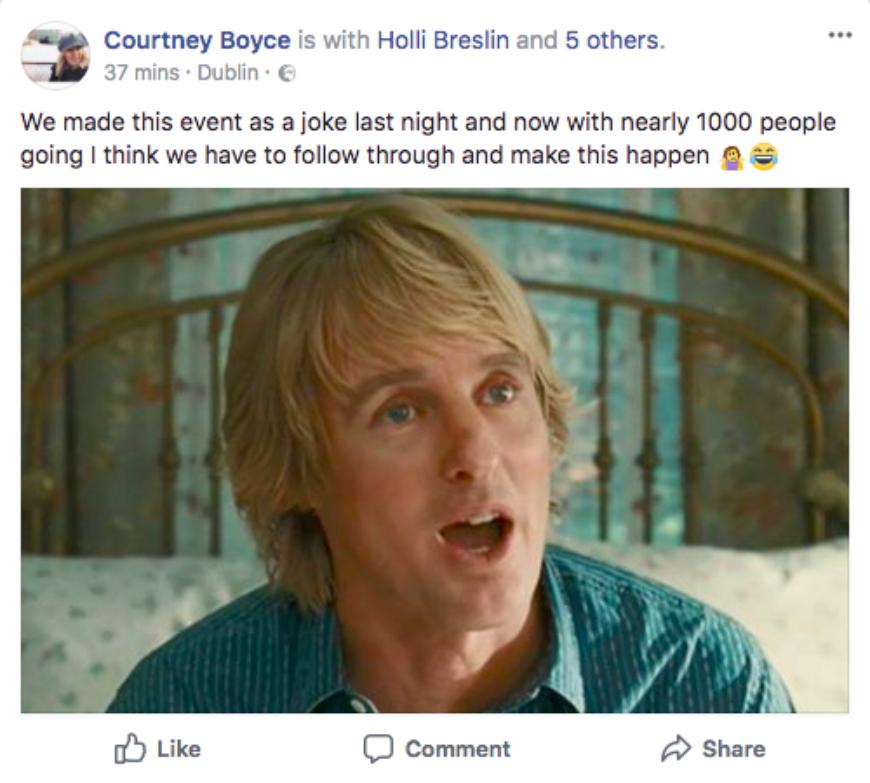 Owen Facebook Post