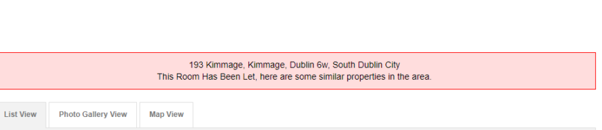 Kimmage Bed Share
