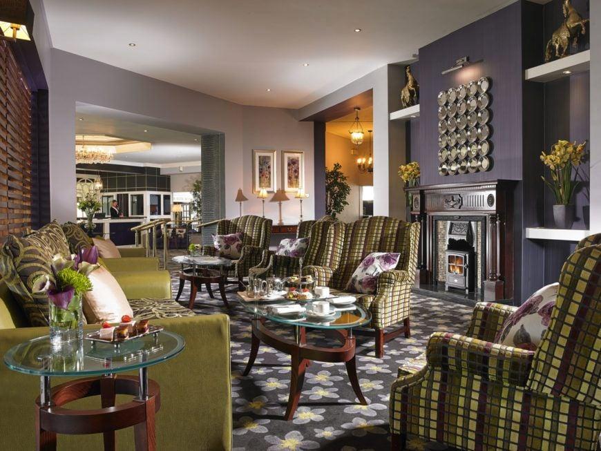 The Gleneagle Hotel Reception Lounge