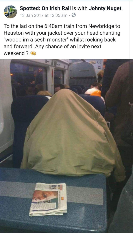 Lad Heuston Train Sesh Monster