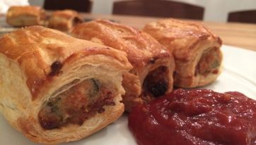 Epic Sage And Apricot Sausage Rolls